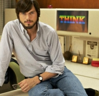 jobs, steve, ashton, Ashton Kutcher, aktor, hollywood, film, kino, apple, iphone, ipod, imac