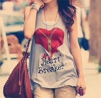 Fashion,Girl,Heart,Love,Shirt,Style