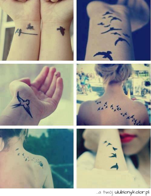 Obrazek Tatuaże Ptaki Tatuaże Ptaki Motyw Ptaki Fajne Tatuaże