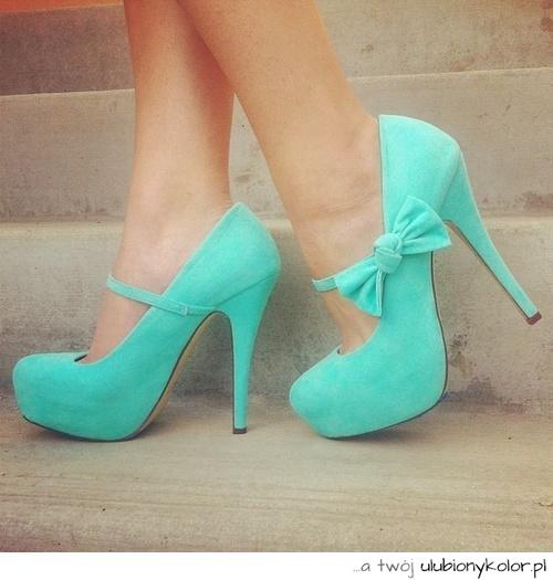 ce861918 obrazek, moda, buty, dziewczyna, super, niebieski, wysokie obcasy ...