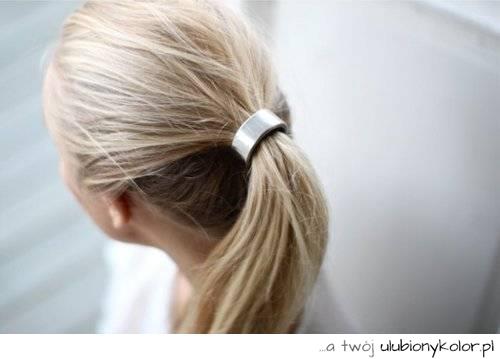 Obrazek Włosy Fryzura Hair Kucyk Pony Hairstyle Koński Ogon