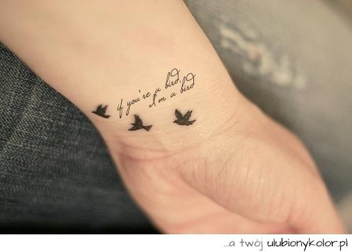 Znalezione obrazy dla zapytania tatuaże napis
