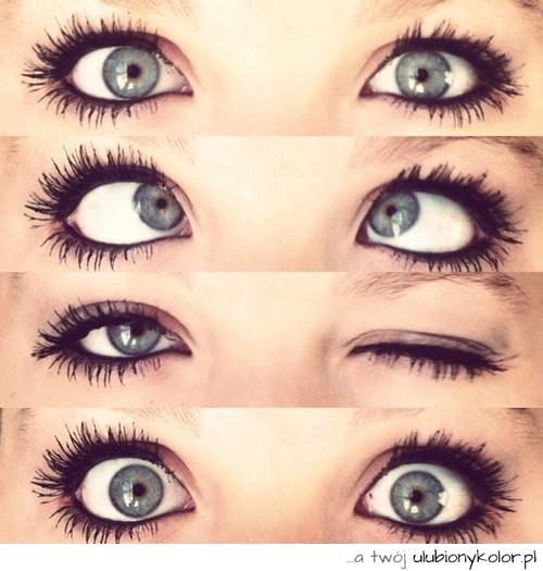 Obrazek śmieszne Oczy Niebieskie Fotografia Makijaż Zdjęcia