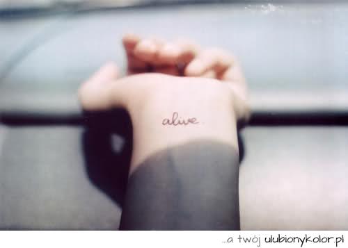 Obrazek Love Tatuaż Girl życie żywa żywy Wciąż